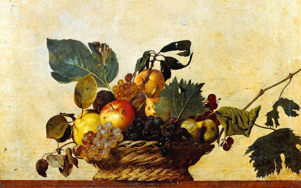 Frutti antichi - caravaggio