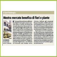 Il Giornale Milano - Mostra mercato benefica