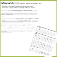 Milanodabere.it - Floricultura, decorazione, eccellenze alimentari e musica