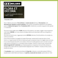 Yesmilano - La mostra mercato per chi ama il verde